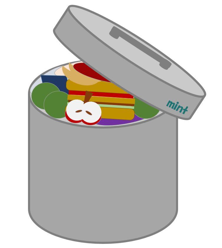 食品廃棄のイラスト